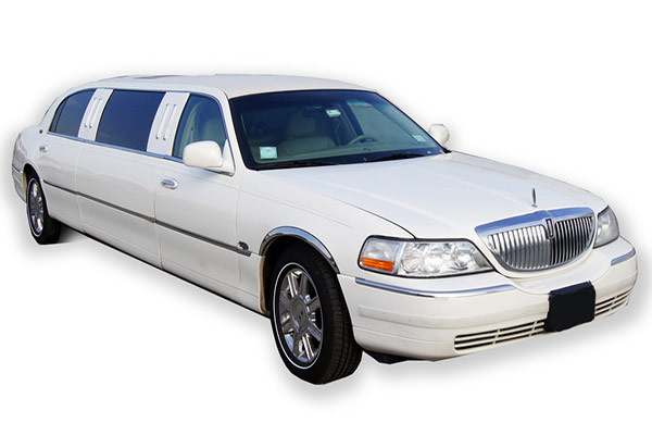 Brampton Lincoln Town Car White